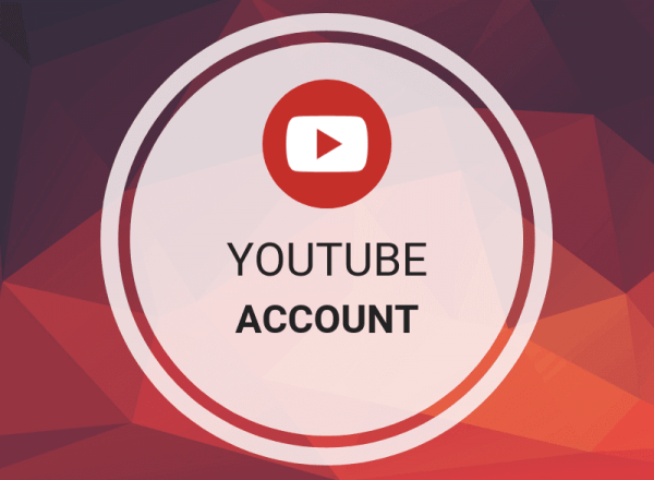 youtube account