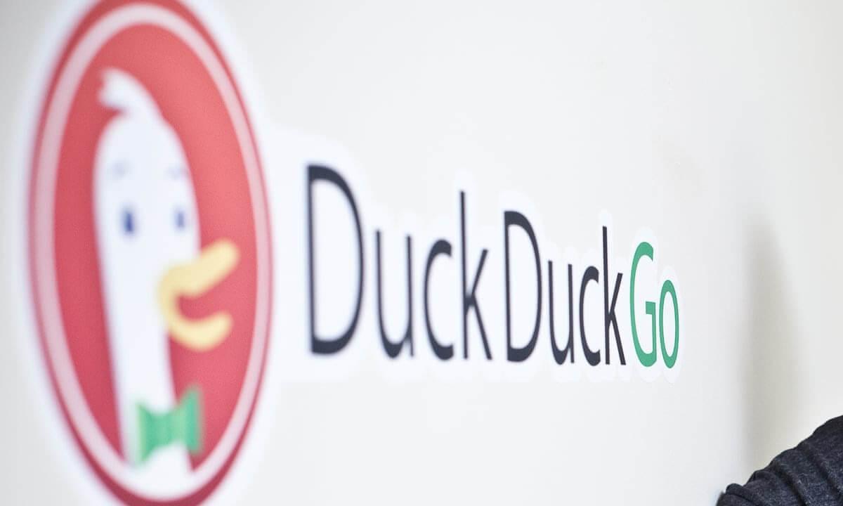 DuckDuckGoプロダクツを屋外なしで