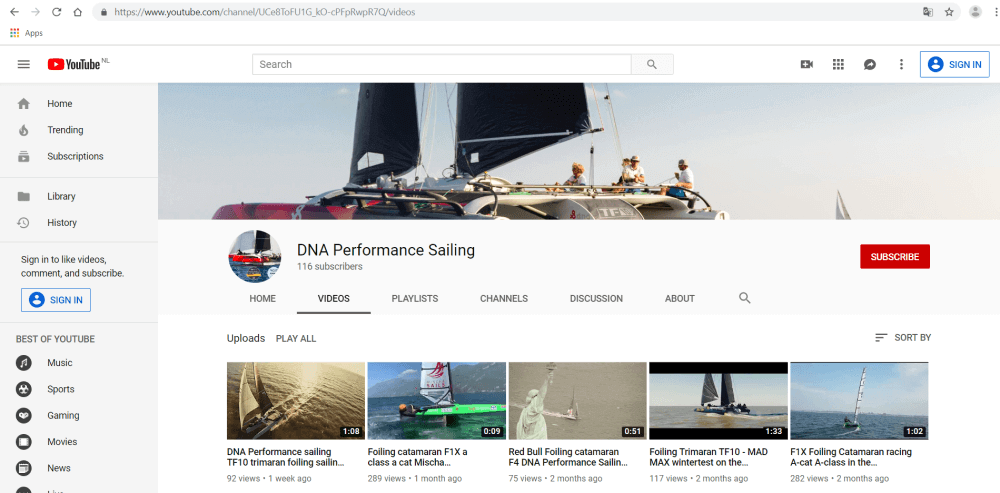 Focus-on-the-video-of-YouTube-channel