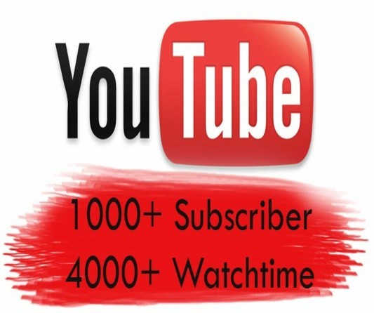 buy 4000 hours of watch and 1000 subscribers