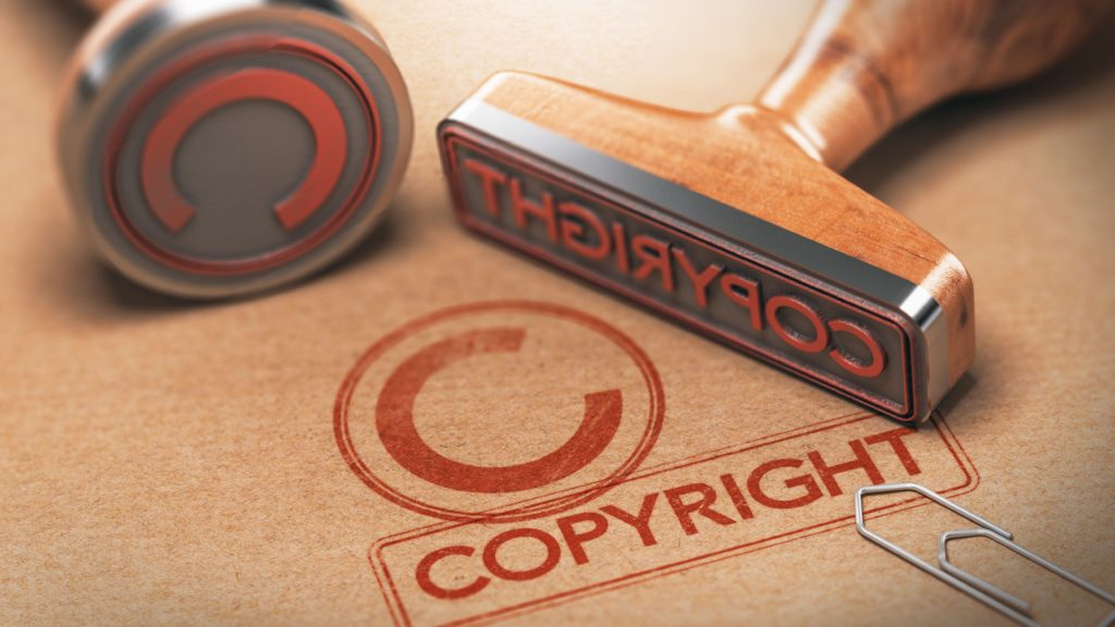Edit the copyrighted videos