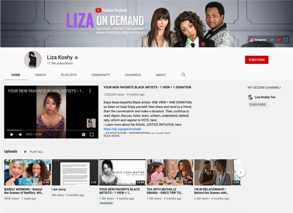 Liza-Koshy-channel