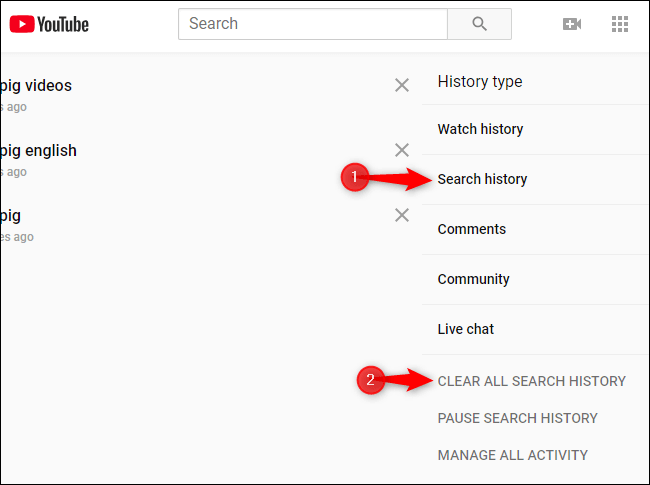 Check the viewed history