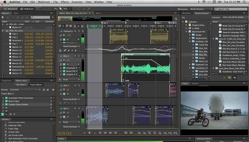 Editing-software-for post-production