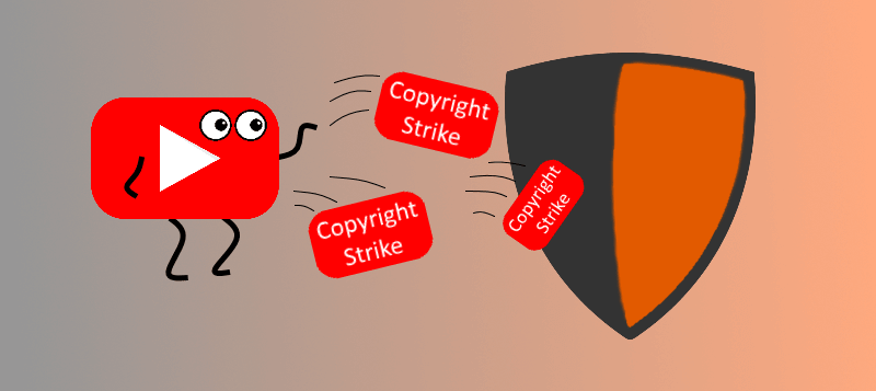 How to be a partner of youtube - Copyright strike