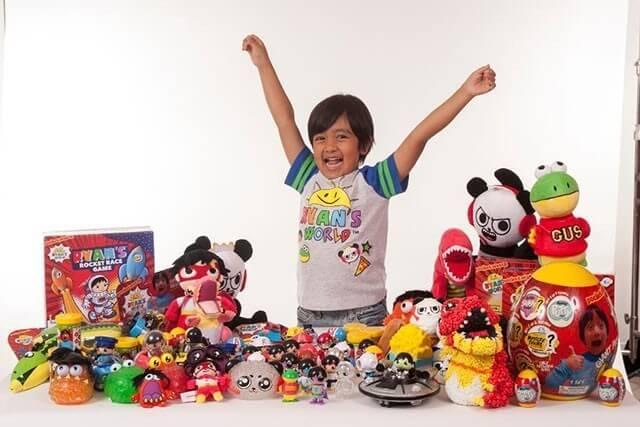 Why kid love watching Youtubers like Ryan Kaji