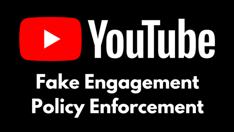 Fake-Engagement-Policy