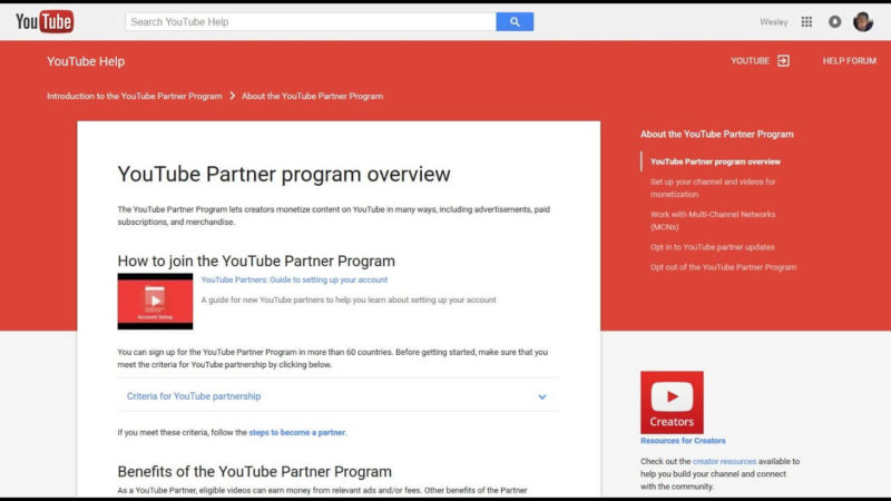 Youtube-Partner-Program-requirements