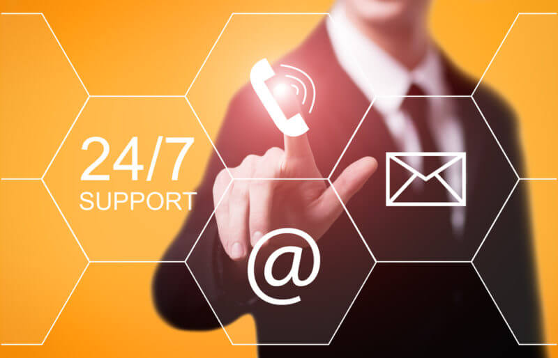 Service-supporter-is-active-24-7-audiencegain
