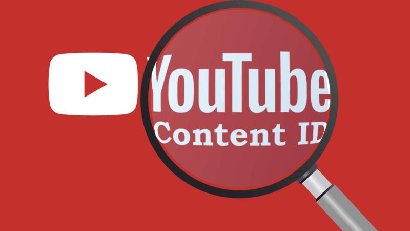 Content-ID 저작권이있는 YouTube 음악