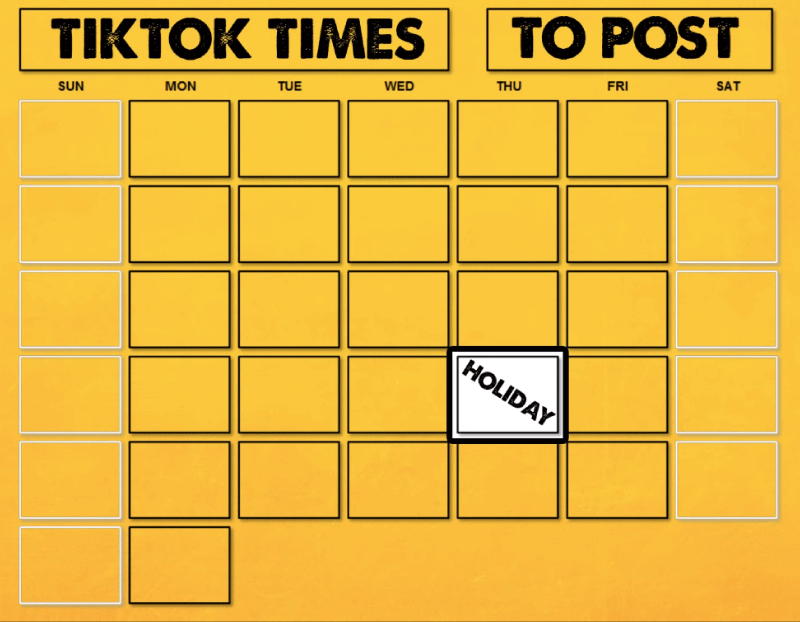 TikTok-best-time-to-post-Weekends-and-holidays