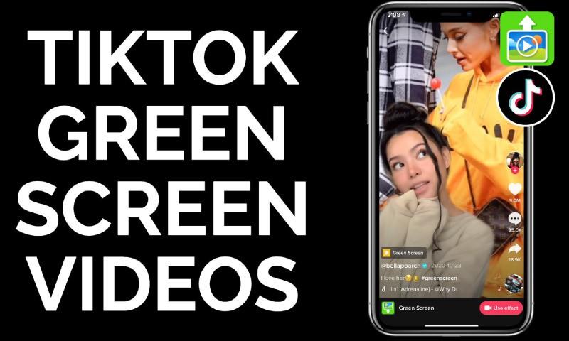 TikTok-green-screen-effect